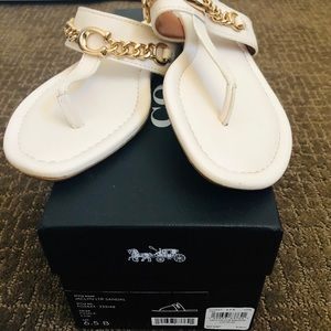 Jaclyn Leather Sandal size 6.5